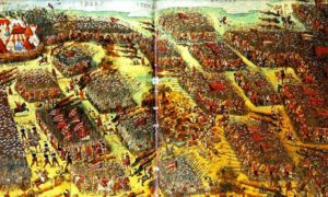 The Battle of Mohács, 1526